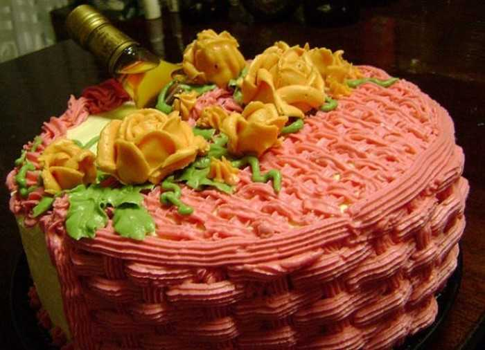 Торт для любимого парня с сюрпризом