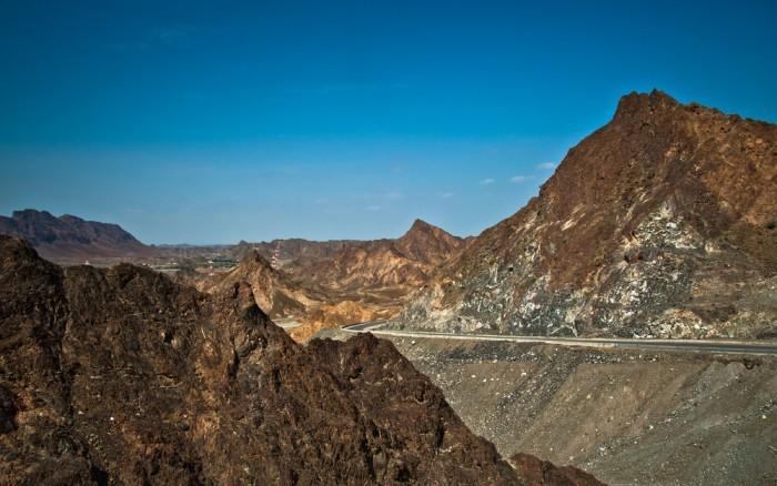 Горы Хаджар в Дубае