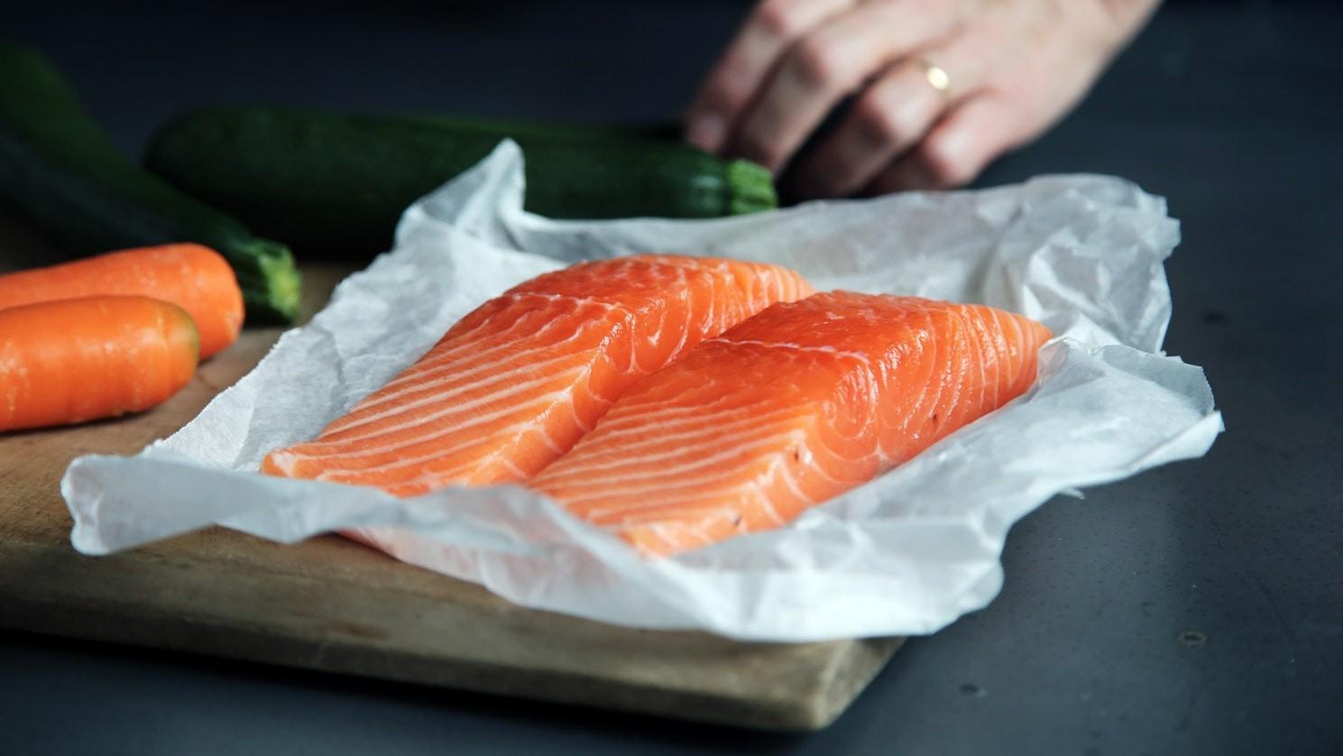 4 способа приготовления лосося Лосось с соусом из зеленого чая
