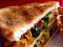 5 самых вкусных рецептов бутербродов Жареный овощной бутерброд