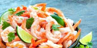 Карибский праздничный салат - новогодние салаты из морепродуктов