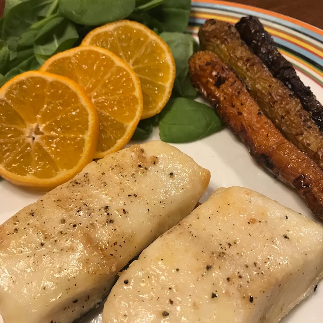 Рецепт приготовления рыбы Палтус в карри