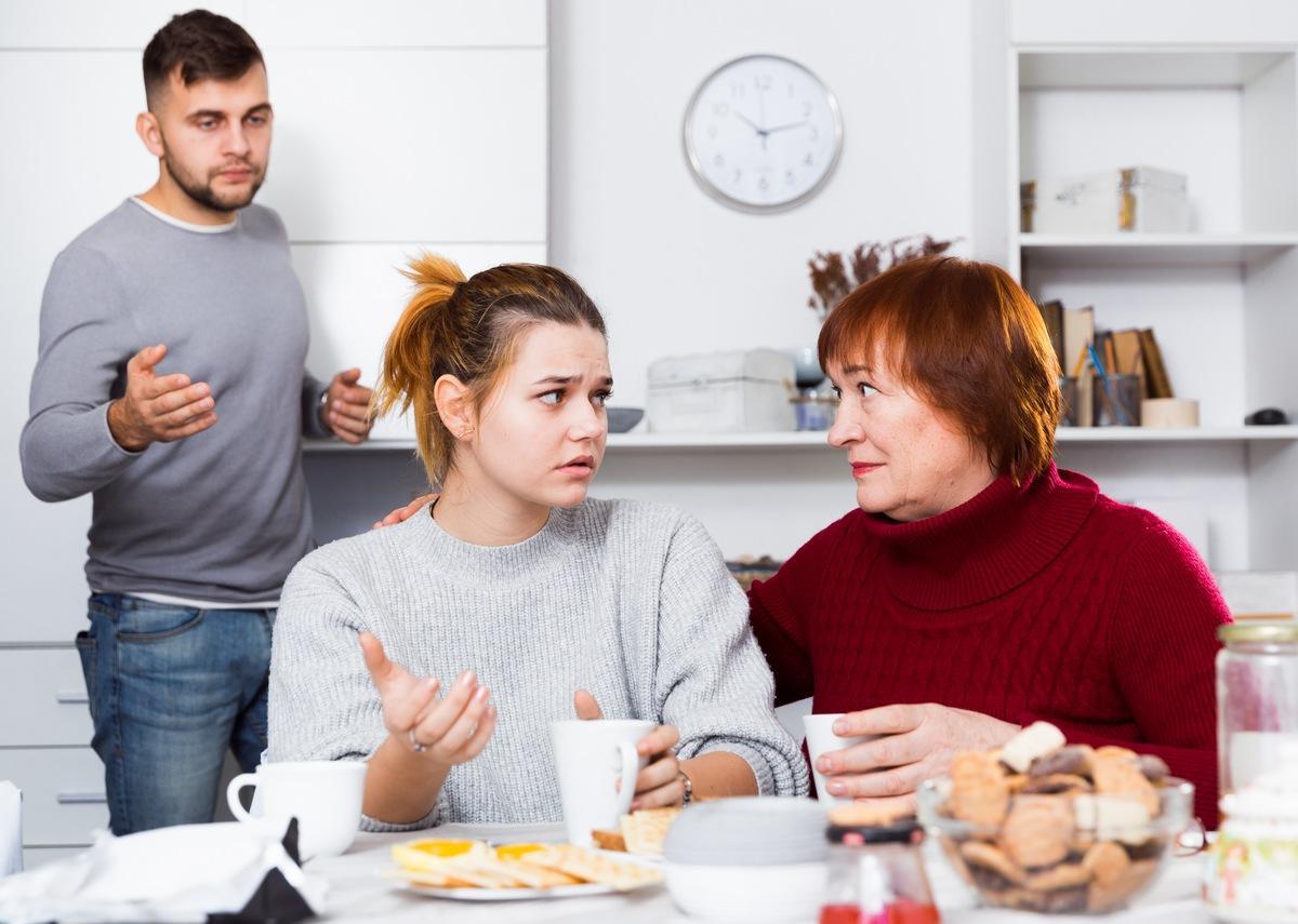 Respektieren Sie die Meinungen Ihrer Familie