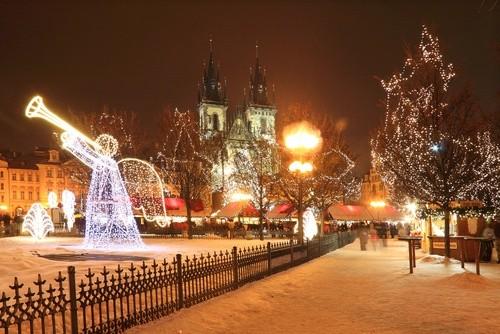 Рождественские Каникулы в Праге