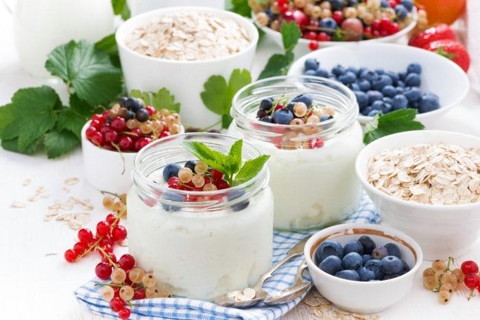 домашних йогуртов с натуральными добавками
