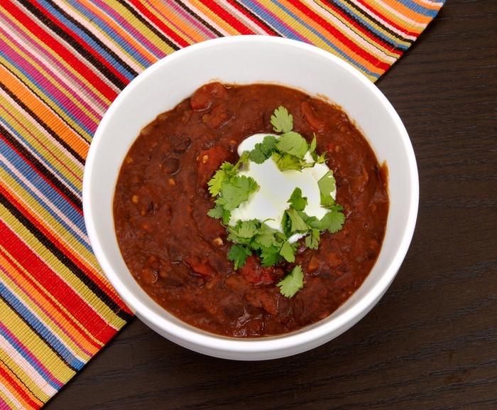 5 замечательных соусов к новогоднему столу - Фасолевый соус с перцем чили