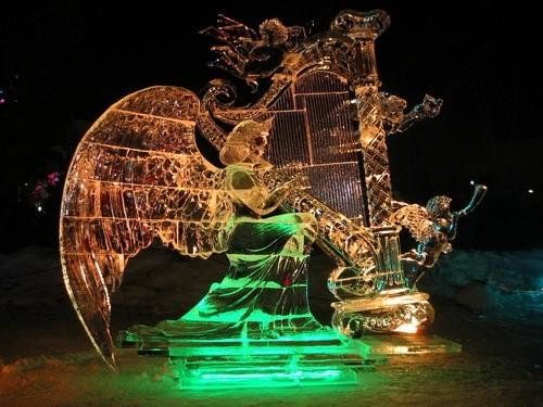 Галерея ледовой скульптуры