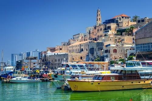 Посетите старинный порт Яффо