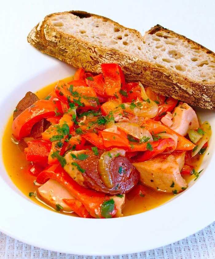 4 полезных блюда быстрого приготовления - Лечо по-столичному