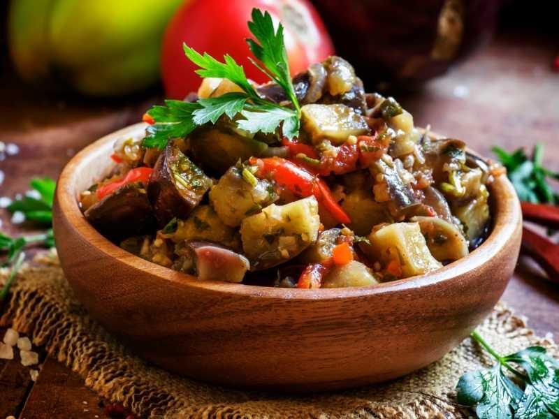 5 рецептов для блюд из баклажанов