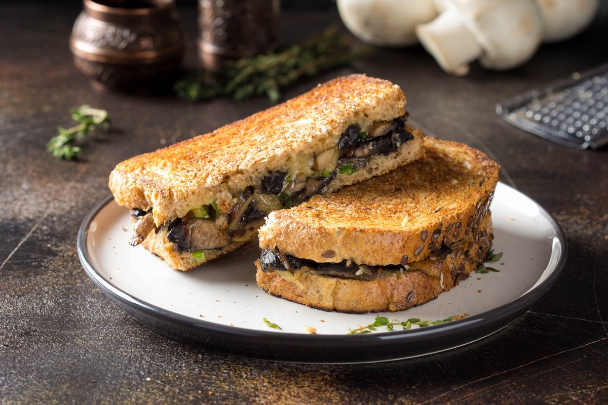 Брускетта с грибами и сыром 8 простых и вкусных блюд из грибов