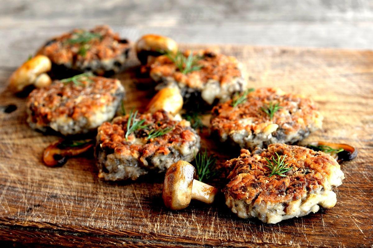 Грибные котлеты 8 простых и вкусных блюд из грибов