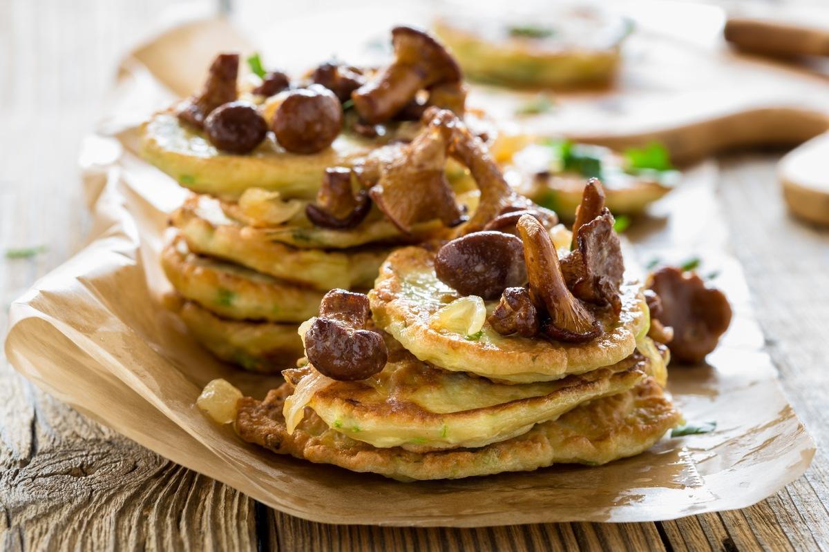 Оладьи из грибов 8 простых и вкусных блюд из грибов