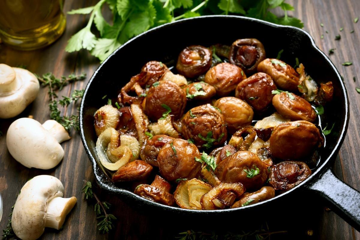 Жареные грибы 8 простых и вкусных блюд из грибов