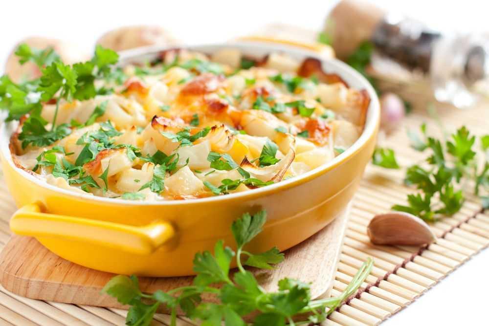 Запеченный картофель с пармезаном
