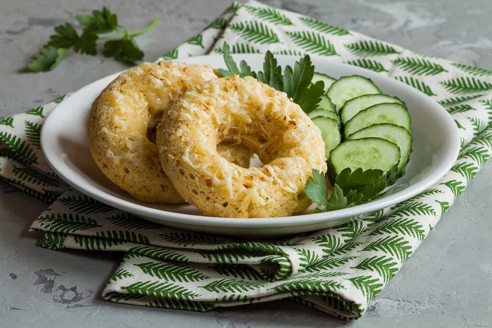 Пончики с сыром рецепт с фото