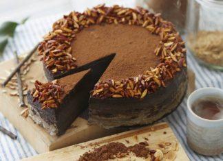 6 простых кремов для перемазки тортов Шоколадный крем с маскарпоне