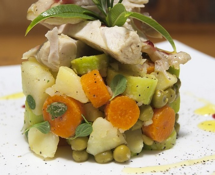 Блюда с кроликом - Кролик с овощами