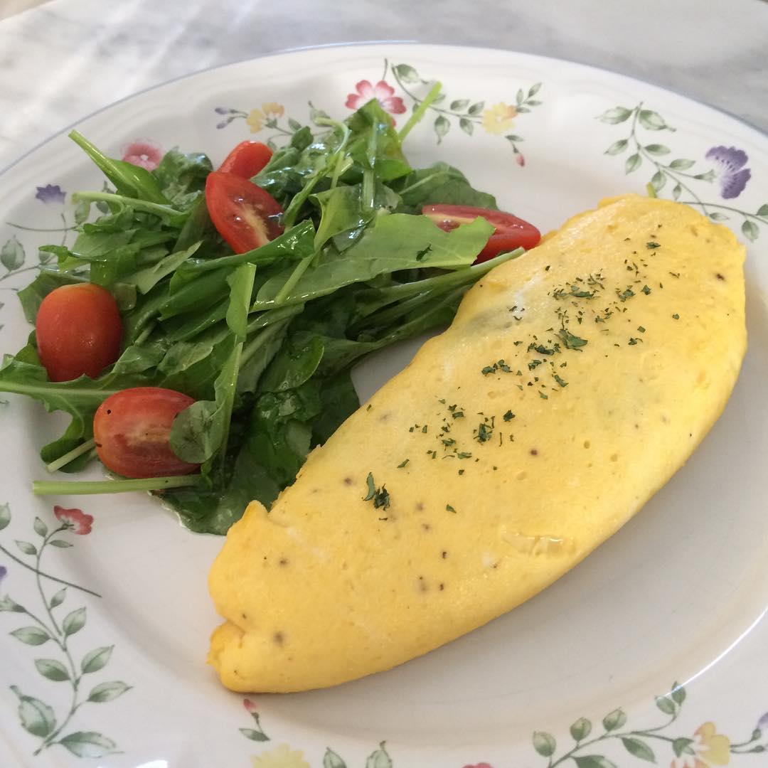 Как приготовить пышный французский омлет