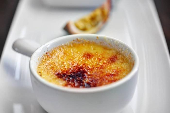 Рецепт крем-брюле из клементинов и пряников ко Дню Святого Валентина