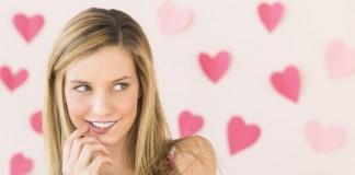 Девушка влюбленна
