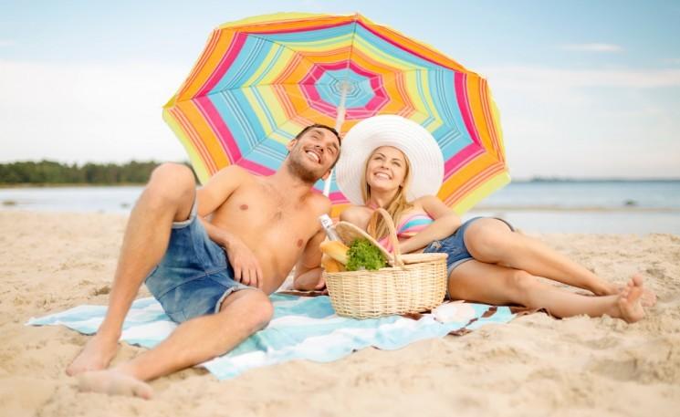 Как выбрать пляжный зонт