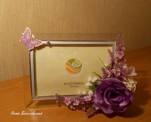 Рамка для фото Цветы надежды