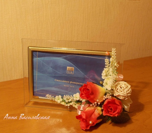 Рамка для фото Розовое счастье