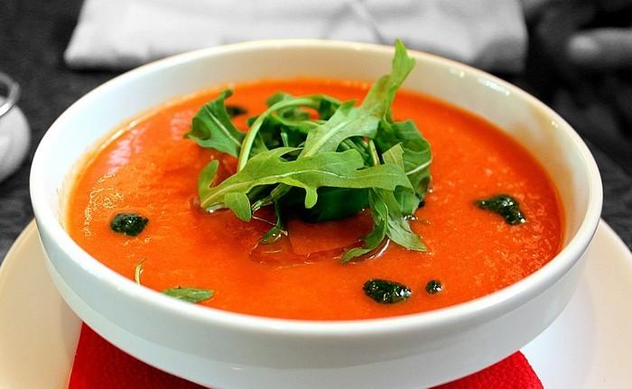4 французских рецепта блюд с томатами Гаспачо