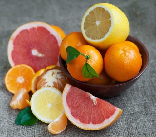 Апельсин, лимон, грейпфрут
