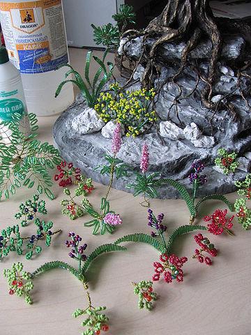 цветы для основы-скалы