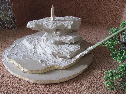 грунтовка скалы дерева бонсай