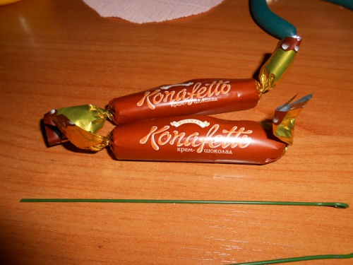 конфеты.