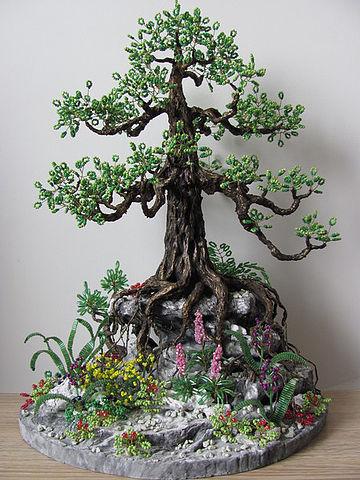 основание-скала для дерево бонсай