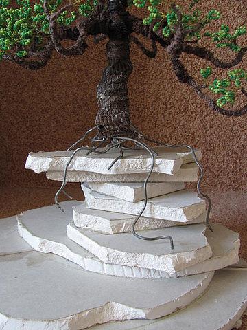 распределение корней на основе дерева бонсай