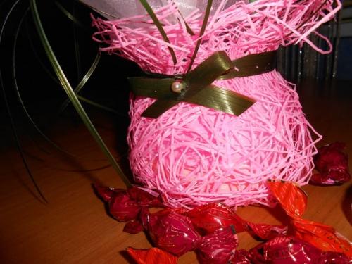 Мастер-Класс Цветочной Композиции из Конфет в Подарок