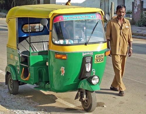 Поездка вдоль Индии на авторикше