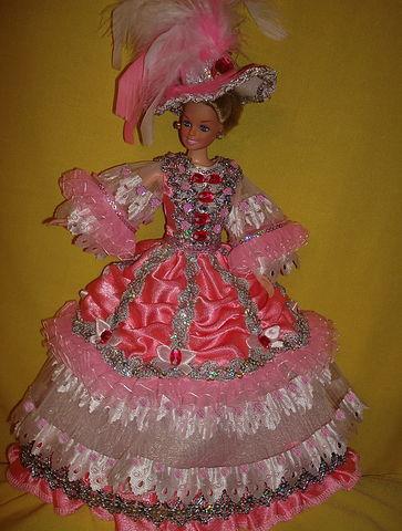 Наряд для куклы Фея Роз