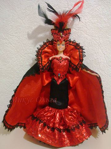 Наряд для куклы Королева Вампиров
