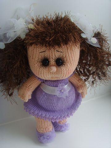 Вязаная кукла своими руками Карина