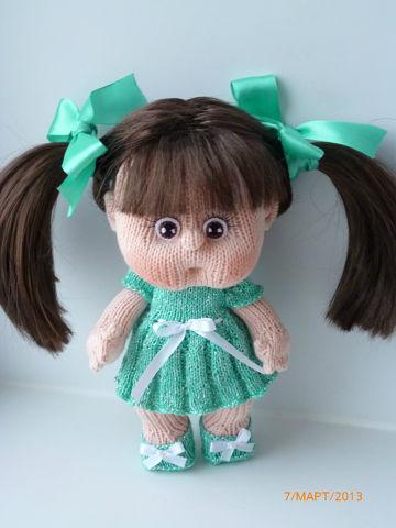 Вязаная кукла своими руками Кристина