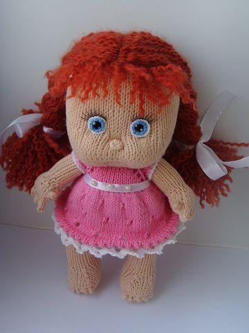 Вязаная кукла своими руками Ксюша