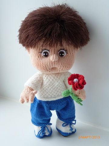 Вязаная кукла своими руками Павлик