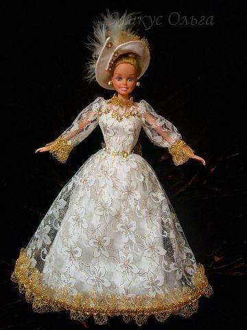 Наряд для куклы Золушка
