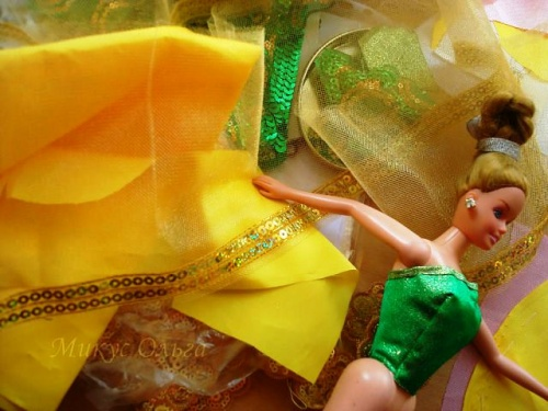 Мастер-Класс по Созданию Платья для Куклы Барби