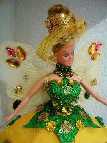 Наряд для куклы Маленькая Фея Цветов