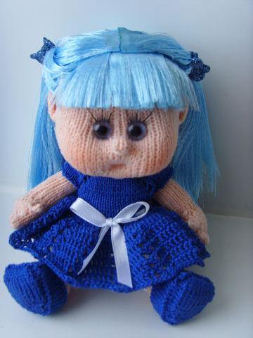 Вязаная кукла своими руками Мальвина
