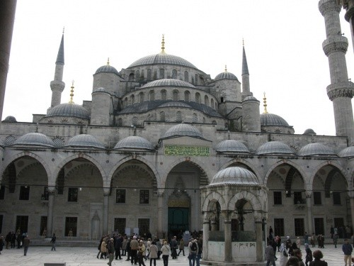 Мечеть султана Ахмеда, Стамбул