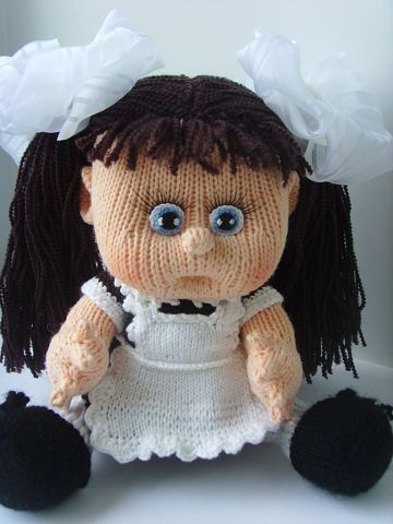 Вязаная кукла своими руками Наташа