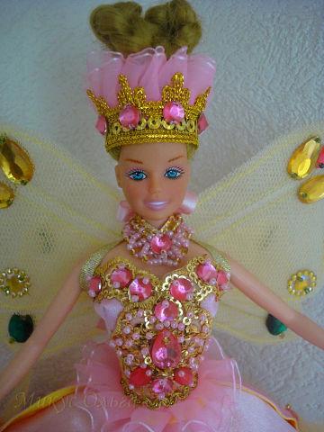 Наряд для куклы Розовая Фея Цветов
